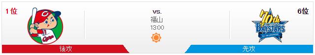 広島横浜_オープン戦_福山