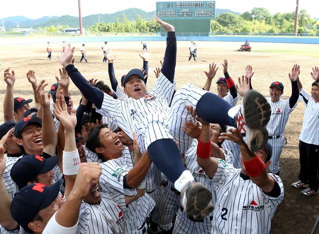 三菱重工広島の野球部が廃部に