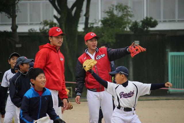山口翔野球教室