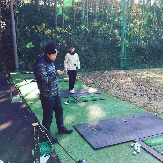 大瀬良_ゴルフ
