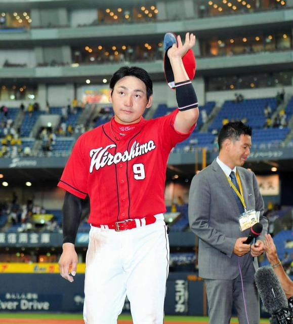 丸佳浩5出塁