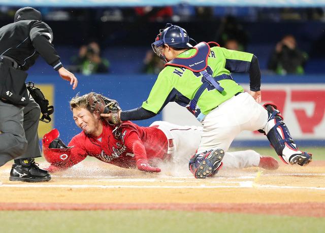 カープ鈴木誠也、今季初盗塁は三盗!→悪送球から本塁突入