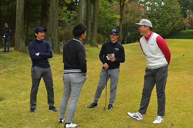 新井さん武井壮チャリティーゴルフ (5)