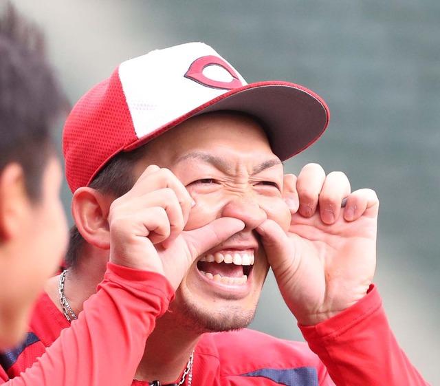 カープ鈴木誠也「得点圏打率.182」「ランナーなし打率.342」