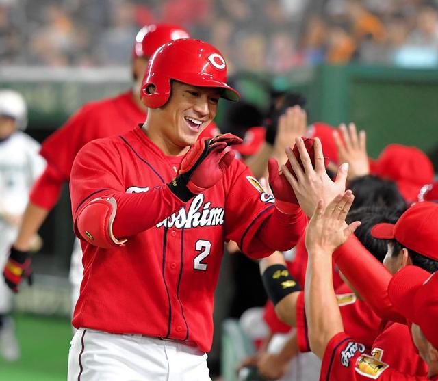 田中広輔10号ホームラン_田中俊太タイムリー2塁打