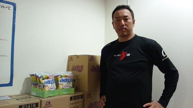 黒田博樹ハイチュウ