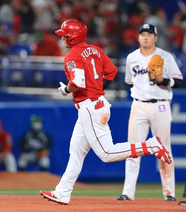 カープ鈴木誠也、20号ホームラン!5年連続20本塁打達成