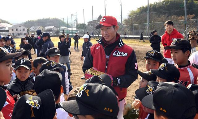 赤松真人_野球教室