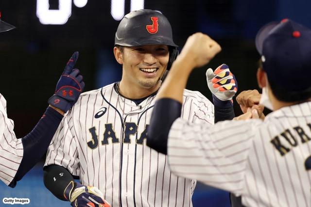 侍ジャパン鈴木誠也.067(4番固定)、休日返上で打撃練習