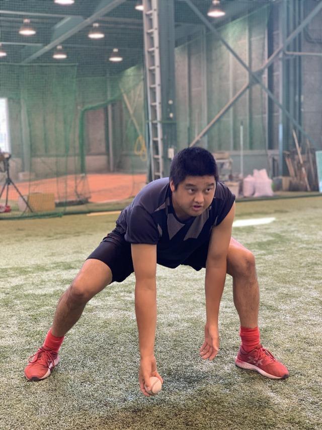 カープ3軍トレーニング (3)