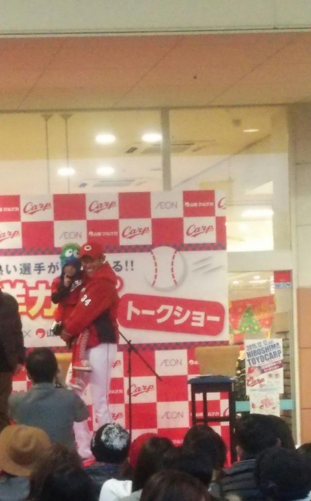 カープ中田廉&上本崇司トークショー_03