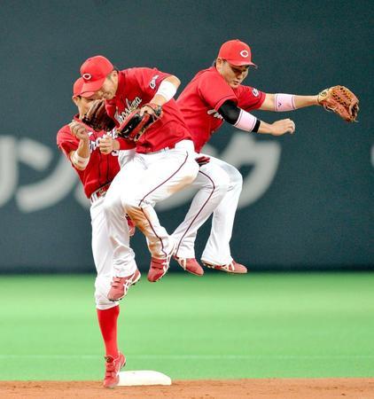 鈴木誠也交流戦首位打者