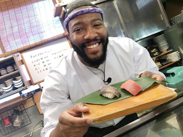 ジャクソンカープ寿司