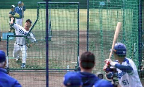 【中日】京田vs松坂、最後の1球本塁打に「あれは松坂さんの優しさ」