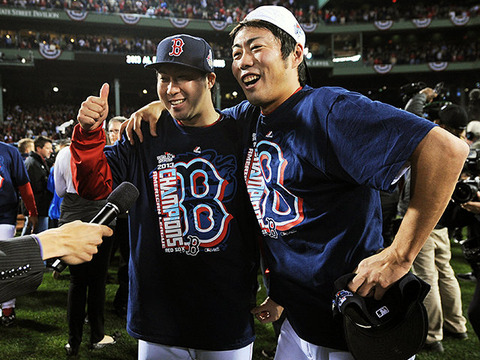 【MLB】レッドソックス、田沢純一と年俸127万5000ドル(約1億3000万円)の1年契約で合意