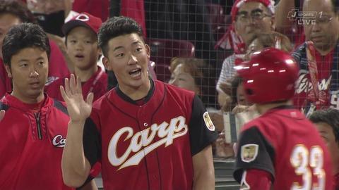 【カープ 1-0 ヤクルト】中村祐太、4勝目!菊池の1発を投手陣が守り切る