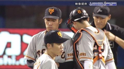 吉川光夫(巨) 5.87 1勝3敗 38.1回 被打率.319 WHIP1.72