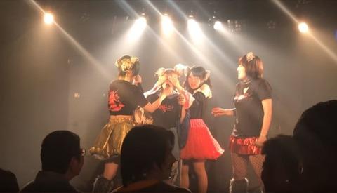 女性アイドル、ライブで「カブトムシ」を食べて解雇