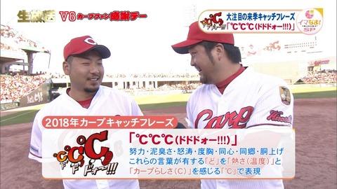 広島カープ、来季のキャッチフレーズ「℃℃℃」