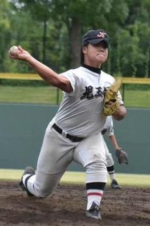 【高校野球】体重104キロ!石黒流投手(3年)が5失点完投