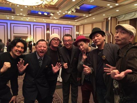 冨樫義博さん、こち亀40周年記念パーティーに参加