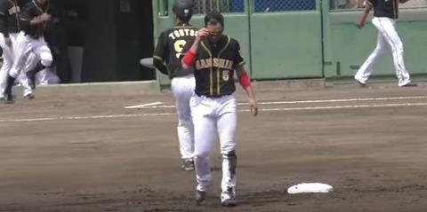 阪神・西岡さん、めっちゃハゲる