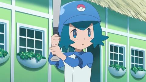 ポケモンのスイレンちゃん、野球が上手い