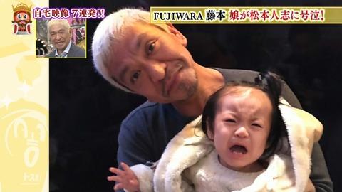 松本人志とフジモンの娘のツーショットwwwwwwww