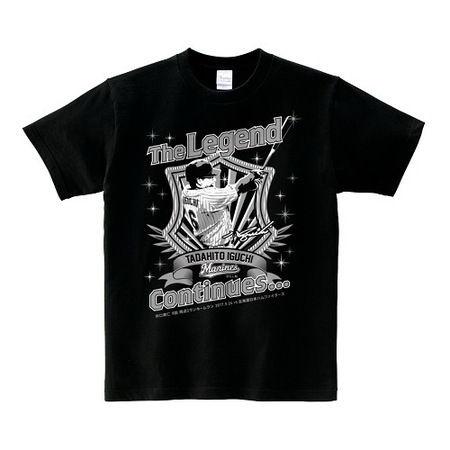 ロッテ、井口監督のレジェンドTシャツ発売