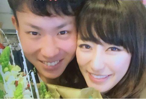 【カープ】堂林が語った新婚生活「えりな、翔ちゃんと呼び合い…」
