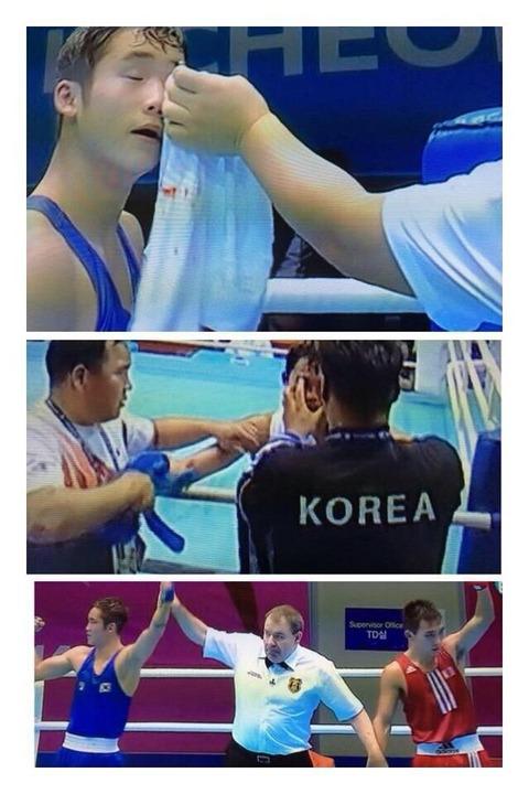 元横綱・朝青龍「キムチやろう!」 モンゴルvs韓国のボクシング判定に激怒