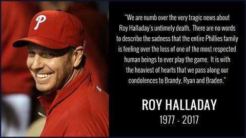 サイ・ヤング賞2度の右腕、ロイ・ハラデイが飛行機事故死