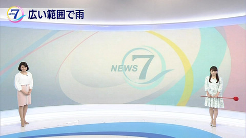 岡村真美子さんに似た気象予報士・國本未華さん(30)がNHKニュース7に登場