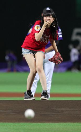 指原莉乃、ソフトバンク日本一を祝福しフォロワーから「ビジネス野球ファン」と突っ込まれる→指原「野球ファンなんて言った?笑」