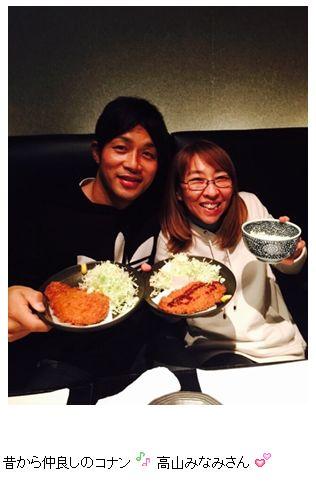 藤井秀悟、何故かコナン声優陣らと食事
