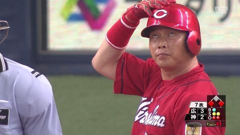 【阪神 3-5 カープ】大瀬良、死球を受けるも我慢の投球で8勝目!