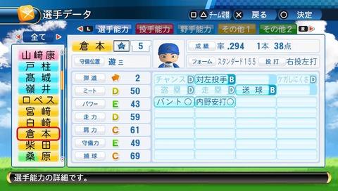 【パワプロ】倉本寿彦さん、今回のアプデでついに守備Eに
