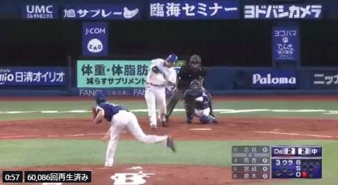 DeNA筒香嘉智さんの最近5試合の成績wwwwwwwwww