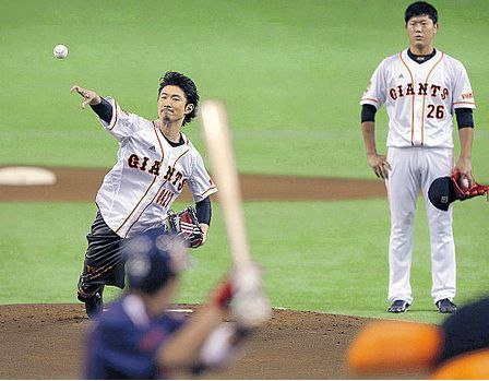 【動画】EXILE・MAKIDAIの投球wwwwwwwww