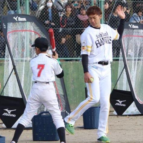 SB柳田悠岐さん、野球教室の子供に住所・電話番号を教えバラされそうになる