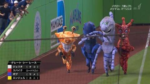 MLBさんのマスコットwwwwwwww