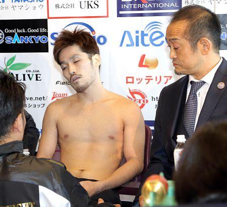 【悲報】今日試合するボクシングの宮崎選手が死体みたいになってる