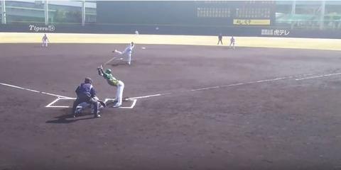 阪神・藤浪晋太郎 さん、独立リーグの選手に死球を当て大怪我をさせていた…