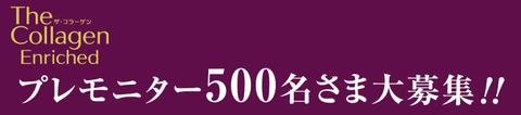 モニター500名募集