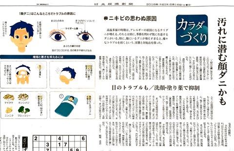 ニキビ 顔ダニ2018-06-16 6.52