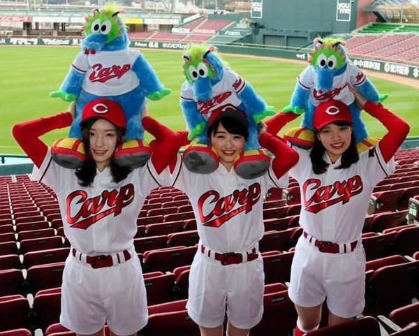 広島が2018年のホームランガールを発表 162人から選出