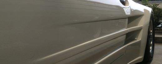 ドレスアップ車の塗装のトラブル回避法