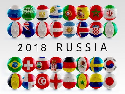 サッカーワールドカップロシア大会