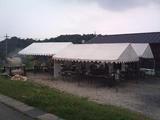 現地テント