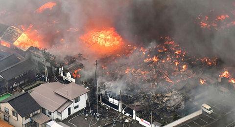 【画像あり】糸魚川大火事で生き残った「奇跡の家wwwwwwwwwwwwwwwwwwwwwwww